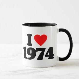 MUG J'AIME 1974