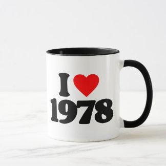 MUG J'AIME 1978