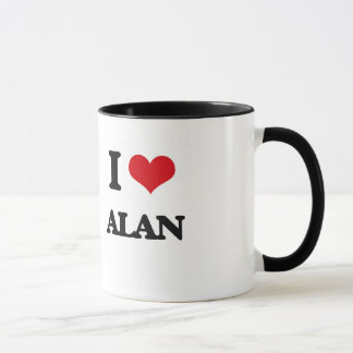 Mug J'aime Alan