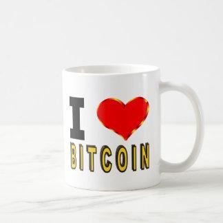 Mug J'aime Bitcoin