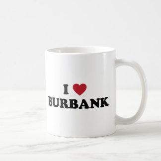 Mug J'aime Burbank la Californie