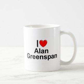 Mug J'aime (coeur) Alan Greenspan