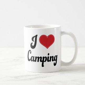 Mug J'aime (coeur) camper
