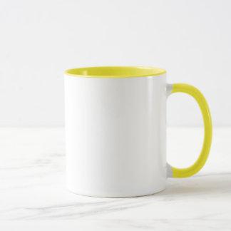 Mug J'aime (coeur) mon colley rugueux Pawprint
