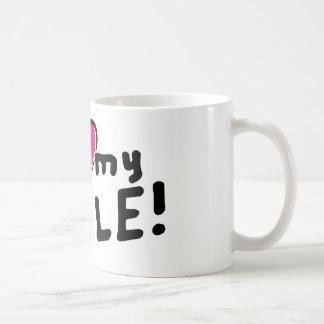Mug J'aime (coeur) mon oncle !