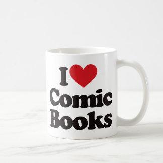 Mug J'aime des bandes dessinées