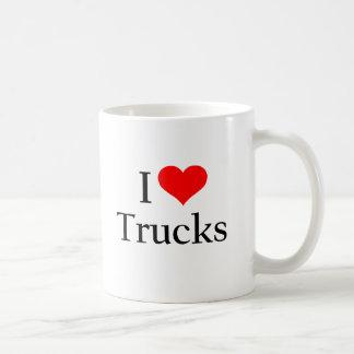 Mug J'aime des camions
