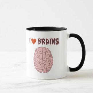 Mug J'aime des cerveaux