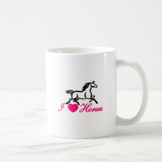Mug J'aime des chevaux