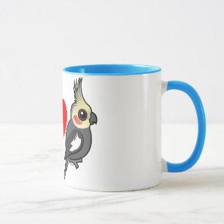 Mug J'aime des Cockatiels