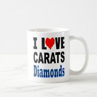 Mug J'aime des diamants de carats
