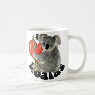 Mug J'aime des koala