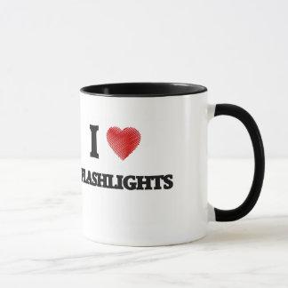 Mug J'aime des lampes-torches
