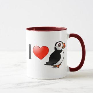 Mug J'aime des macareux