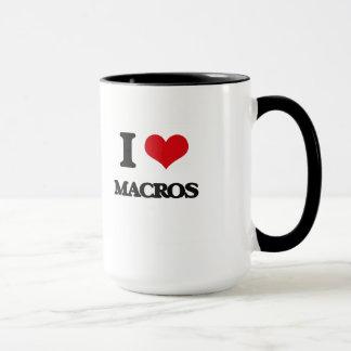 Mug J'aime des macros