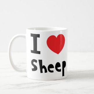 Mug J'aime des moutons