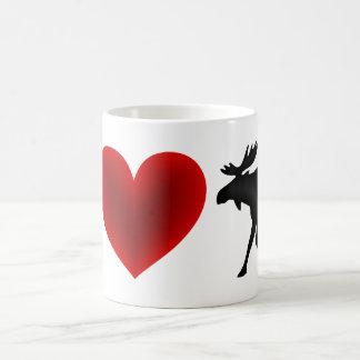 Mug J'aime des orignaux