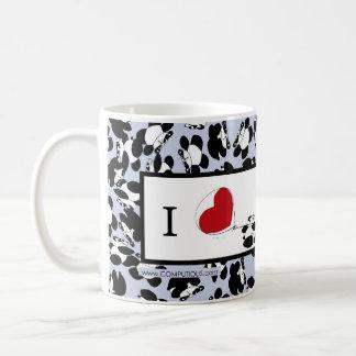 Mug J'aime des pandas