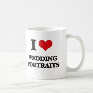 Mug J'aime des portraits de mariage