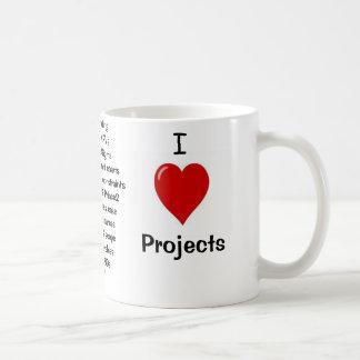 Mug J'aime des projets - raisons grossières pour