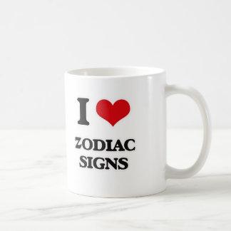 Mug J'aime des signes de zodiaque