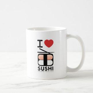 Mug J'aime des sushi