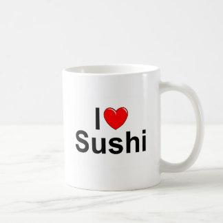 Mug J'aime des sushi (de coeur)