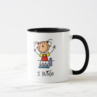 Mug J'aime des T-shirts et des cadeaux de bingo-test
