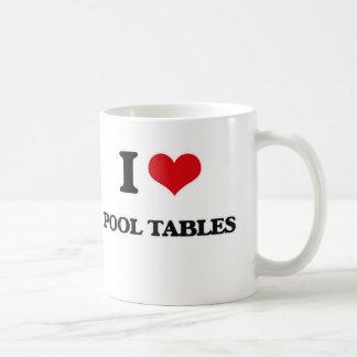 Mug J'aime des tables de billard
