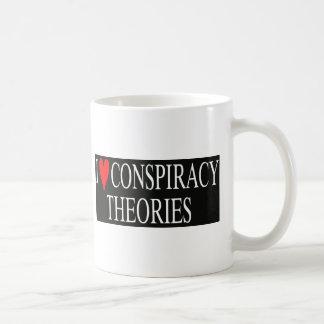 Mug J'aime des théories de conspiration