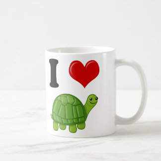 Mug J'aime des tortues