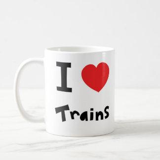 Mug J'aime des trains