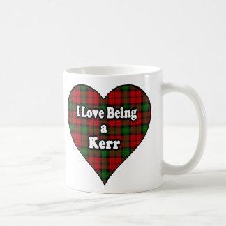 Mug J'aime être un Kerr que le clan mettent en forme