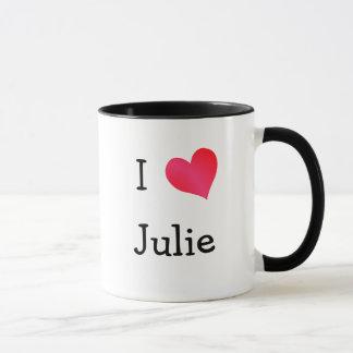 Mug J'aime Julie