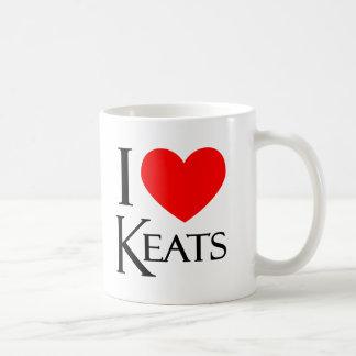 Mug J'aime Keats