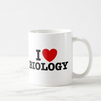 Mug J'aime la biologie