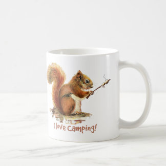 Mug J'aime la citation animale mignonne CAMPANTE
