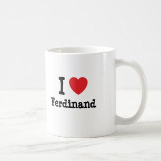 Mug J'aime la coutume de coeur de Ferdinand