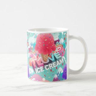 Mug j'aime la crème glacée