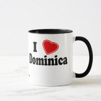 Mug J'aime la Dominique