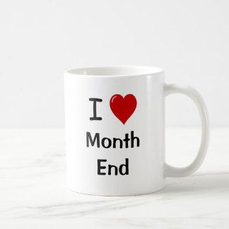 Mug J'aime la fin du mois - raisons pour lesquelles !