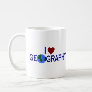 Mug J'aime la géographie