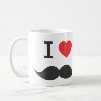 Mug j'aime la moustache