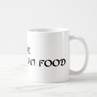 Mug j'aime la nourriture coréenne - vert