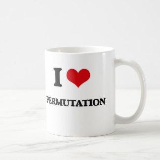 Mug J'aime la permutation