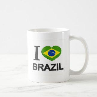 Mug J'aime la substance du Brésil