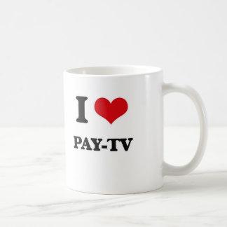 Mug J'aime la télévision à péage