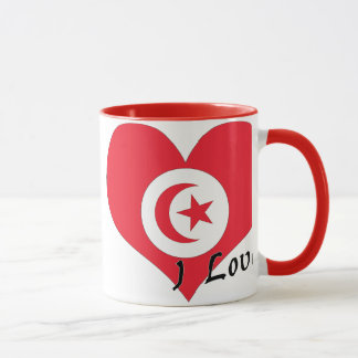 Mug J'aime la Tunisie