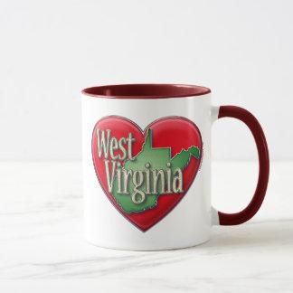 Mug J'aime la Virginie Occidentale