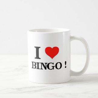 Mug J'aime le bingo-test